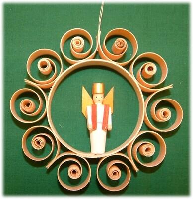 Johanness Heidrich - Tree Ornament with Angel, simple