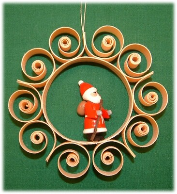 Johanness Heidrich - Tree Ornamentation with Santa