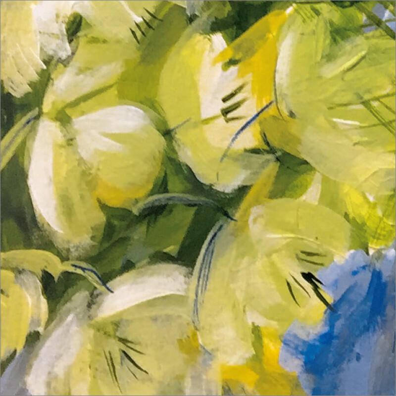 Hellebores (Helleborus argutifolius)  Irish: eileabar