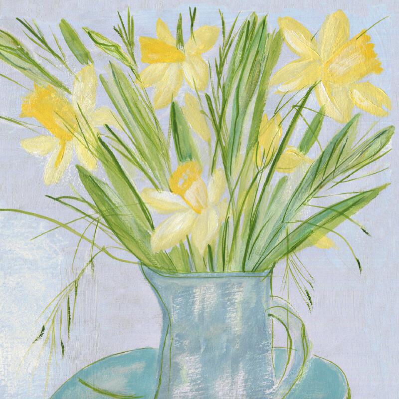 Daffodils (Narcissus) Irish: lus an chromchinn