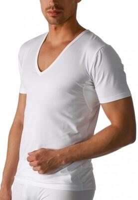 Mey dry cotton functional V-neck shirt