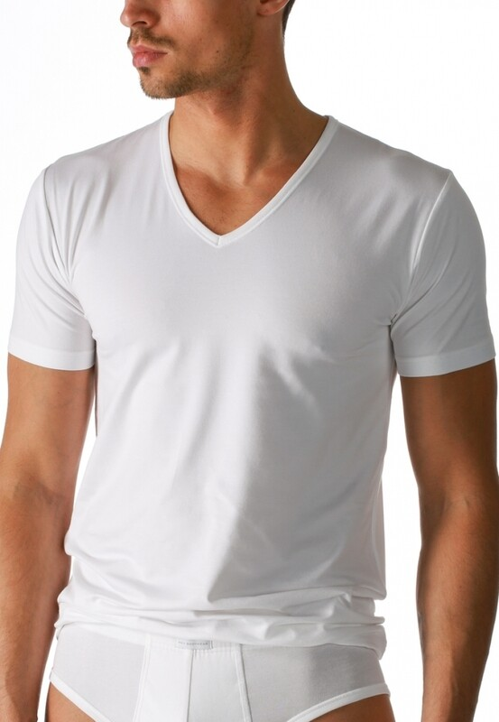Mey dry cotton V-neck shirt