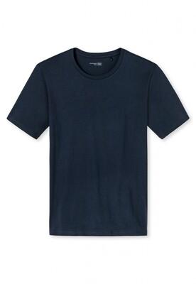 Schiesser T-shirt met korte mouw en ronde hals Mix+Relax