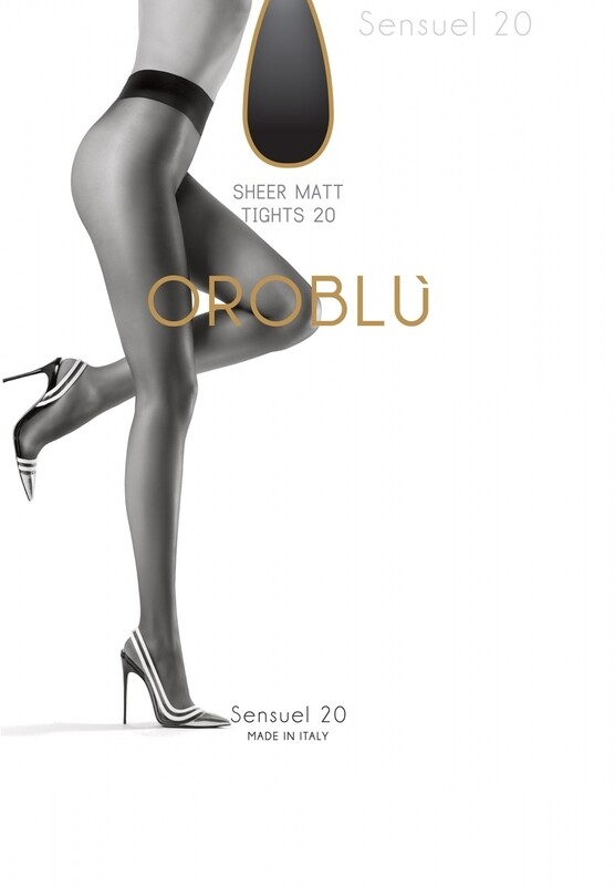 Oroblu panty Sensuel 20 nearly black