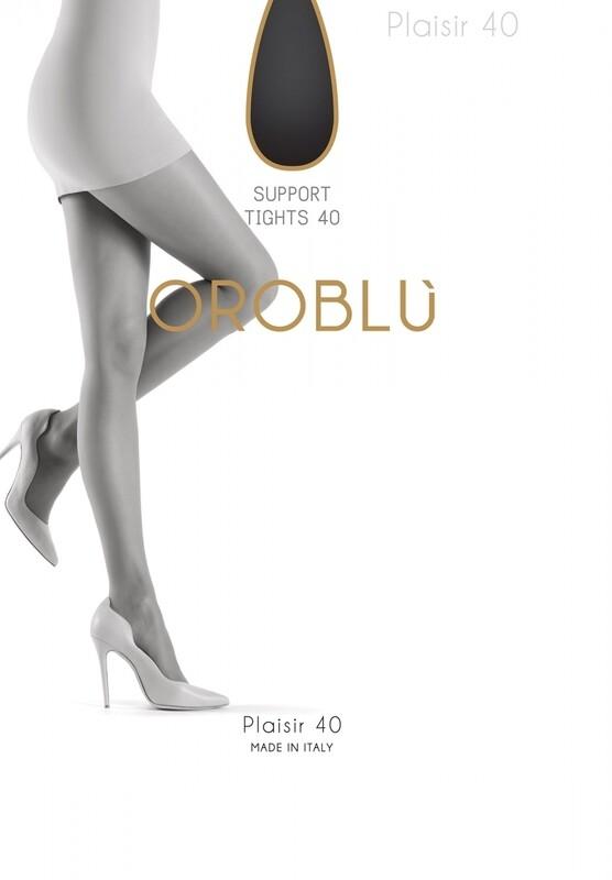 Oroblu panty Plaisir 40 nearly black