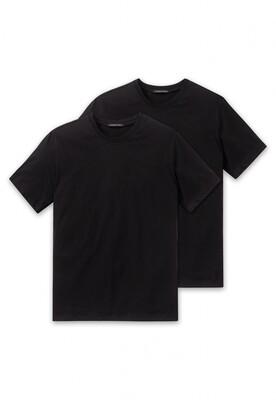 Schiesser American T-shirt met ronde hals 2p