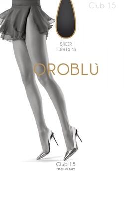 Oroblu panty Club 15 nearly black