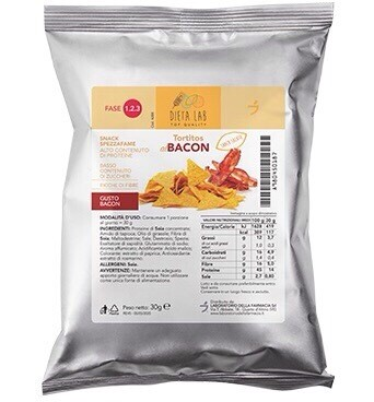 Patatine bacon 30 gr