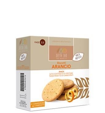 Biscotti gusto arancio 150 G