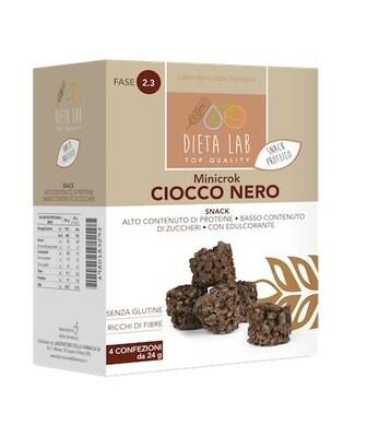 Minicrok cioccolato nero 4 pz