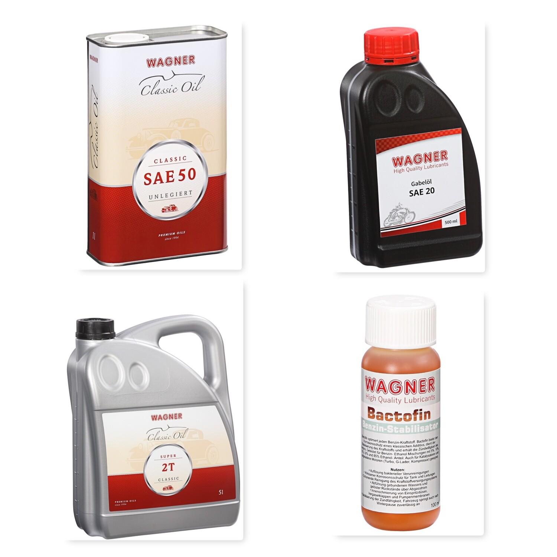 Öl Set für DKW RT 250 H und DKW RT 250/1