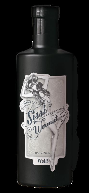 0,5l Sissi Wermut schwarze Edition
