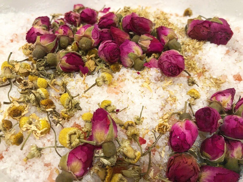 Rose Chamomile Bath Soak