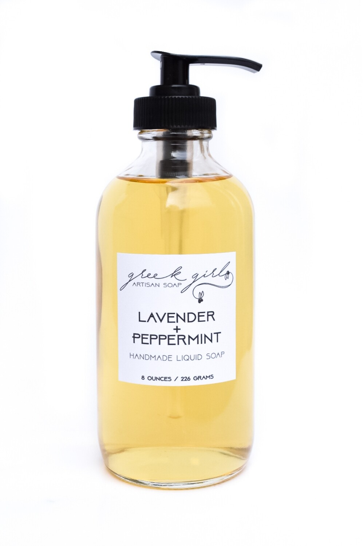 Lavender + Peppermint Liquid Soap