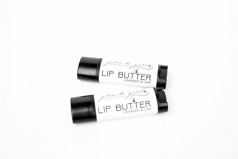 Lavender-Lime Lip Butter