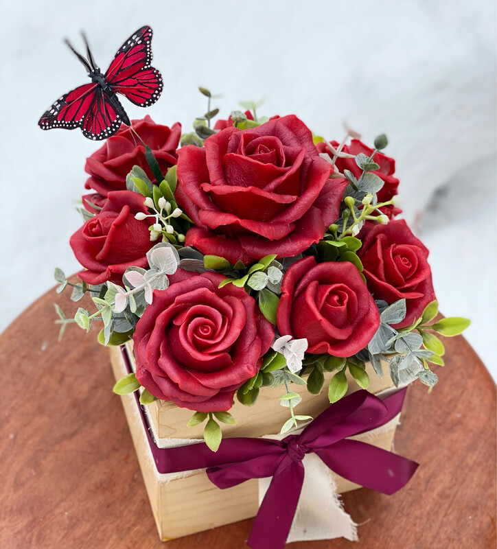 Be Mine Red Roses