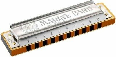HOHNER 1896BX-F# MARINE BAND HARMONICA