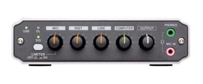 TASCAM US-125M USB AUDIO INTERFACE W/MIX