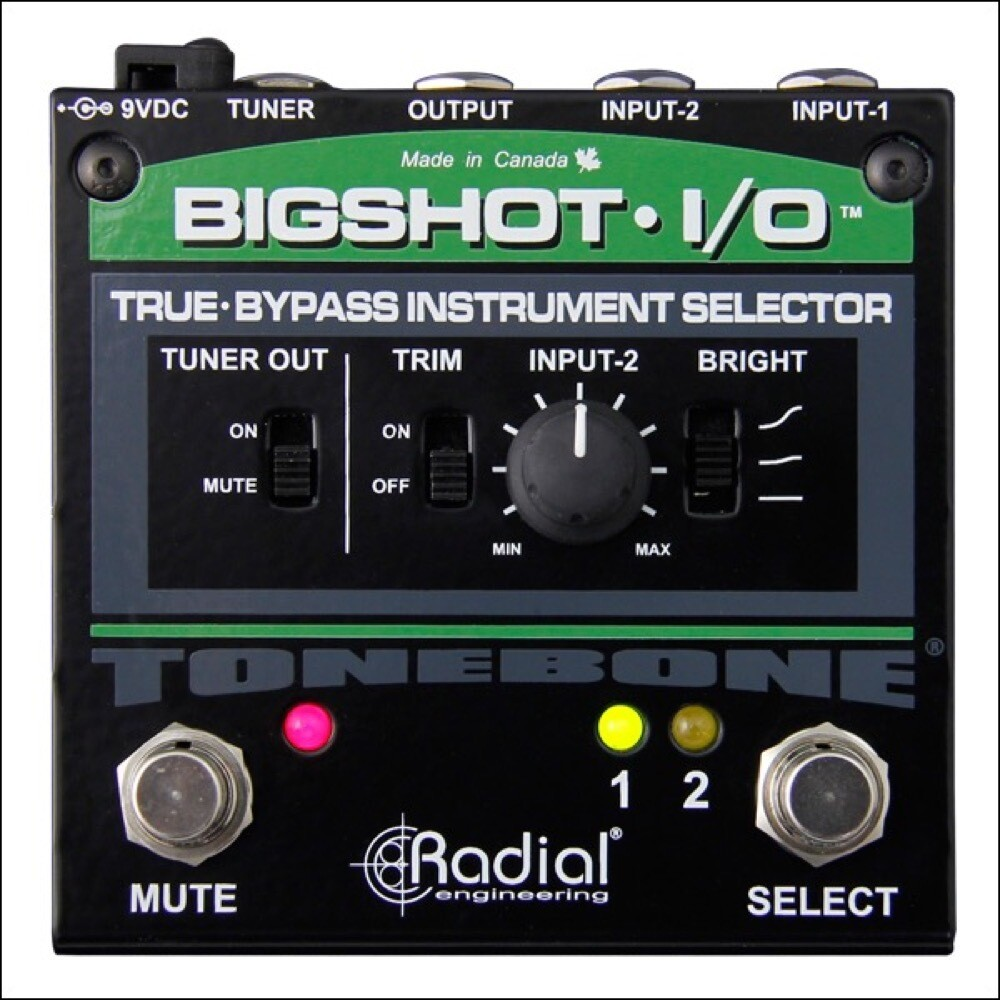 RADIAL BIGSHOT I/O INSTRUMENT SELECTOR w/LED