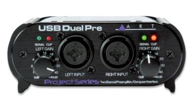 ART USB DUAL PREAMP 2x COMBO JACKS w/USB