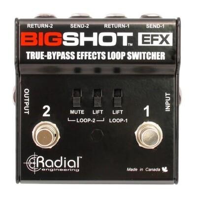 x_RADIAL BIGSHOT EFX Effects loop control