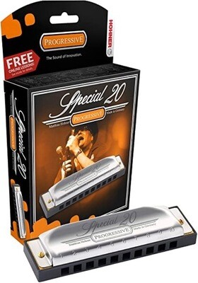 HOHNER 560BX-BN SPECIAL 20 HARMONICA (B)