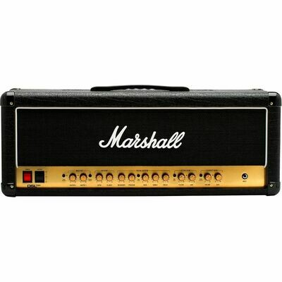 MARSHALL DSL100HR 2 CHANNEL ALL TUBE GUITAR HEAD