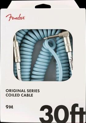 FENDER 099-0823-006 ORIGINAL COIL CABLE 30' /DAPHNE BLUE