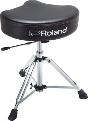 ROLAND RDT-SHV HYDRAULIC SADDLE DRUM THRONE. VINYL SEAT