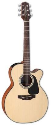 TAKAMINE GX18CE-NS mini guitare acoustique/électrique (3/4) avec table solide w/gigbag