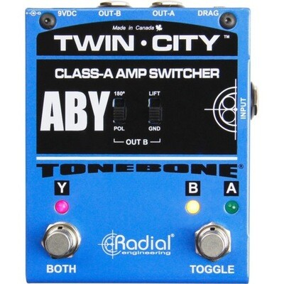 RADIAL TONEBONE TWIN CITY ABY Switcher. Active Class 1 w/Drag Control