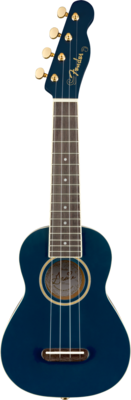FENDER 097-1610-102 GRACE VANDERWAAL MOONLIGHT SOPRANO UKULELE /NAVY BLUE