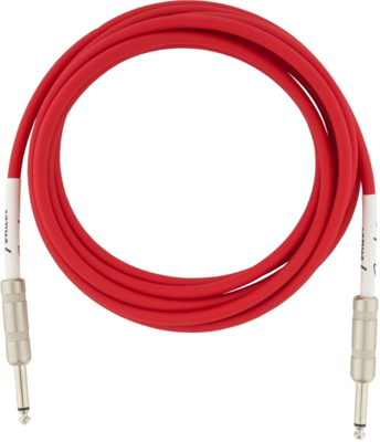FENDER 099-0515-010 ORIGINAL 15' INSTRUMENT CABLE /FIESTA RED