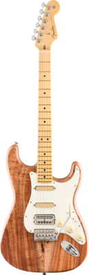 FENDER 017-6503-821 RARITIES FLAME KOA TOP STRATOCASTER /MN /NATURAL /CASE