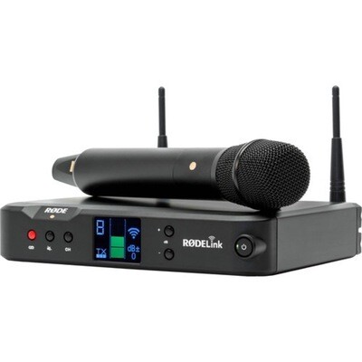 RODE PERFORMER KIT RODELINK RECHARGEABLE HANDHELD WIRELESS w/CONDENSER MIC