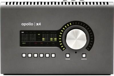 UA APOLLO X4 4 PREAMP + ADAT THUNDERBOLT 3 AUDIO INTERFACE (QUAD CORE)