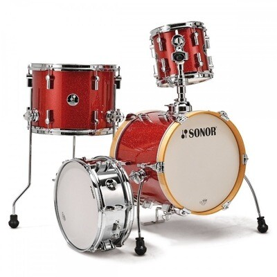 SONOR SSE14-MARTINI-4PC-13116 4PCS DRUMSET SHELLPACK RED GALAXY