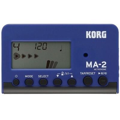KORK MA-2 METRONOME NUMÉRIQUE BLEU/NOIR
