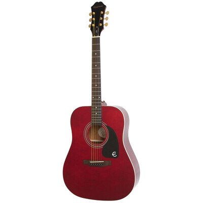 EPIPHONE DR100WRGH GUITARE ACOUSTIQUE DREADNOUGHT /WINE RED