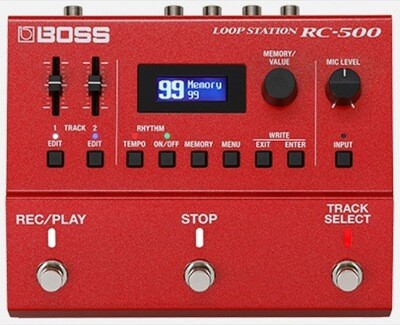 ROLAND RC-500 DUAL TRACK STEREO LOOPER