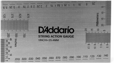 D'ADDARIO PW-SHG-01 STRING HEIGHT GAUGE