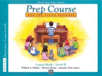 ALFRED 00-3090 BASIC PIANO PREP COURSE : LESSON BOOK B