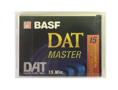 BASF DAT MASTER 15 DIGITAL AUDIO TAPE