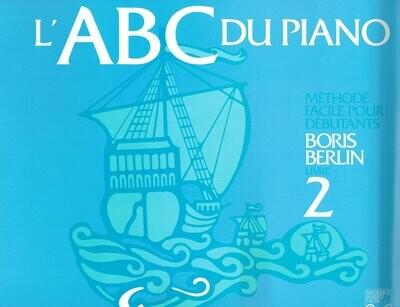 BERLIN 6PABCF2 METHODE ABC DU PIANO LIVRE 2 /FR
