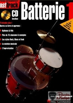 FAST TRACK BATTERIE 1 / & CD