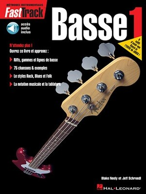 FAST TRACK 695436 METHODE DE BASSE VOL 1 /CD