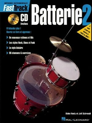 FAST TRACK BATTERIE 2 & CD