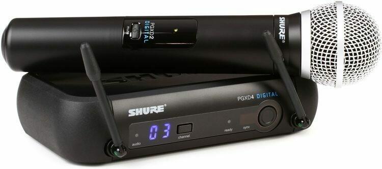Shure PGXD24/SM58-X8 Sans Fil Baton