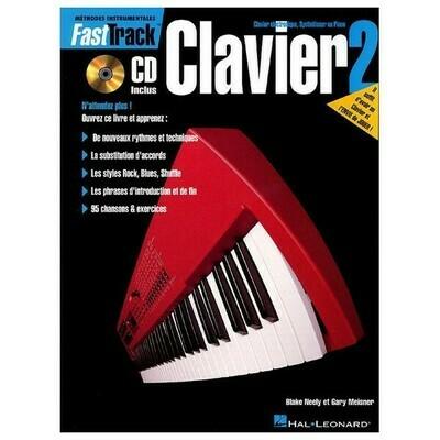 FAST TRACK 695439 METHODE DE CLAVIER VOL 2 /CD