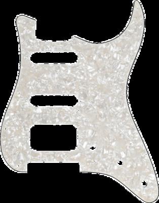 FENDER 099-1338-000 PICKGUARD STRAT AGED WHITE PEARL HSS